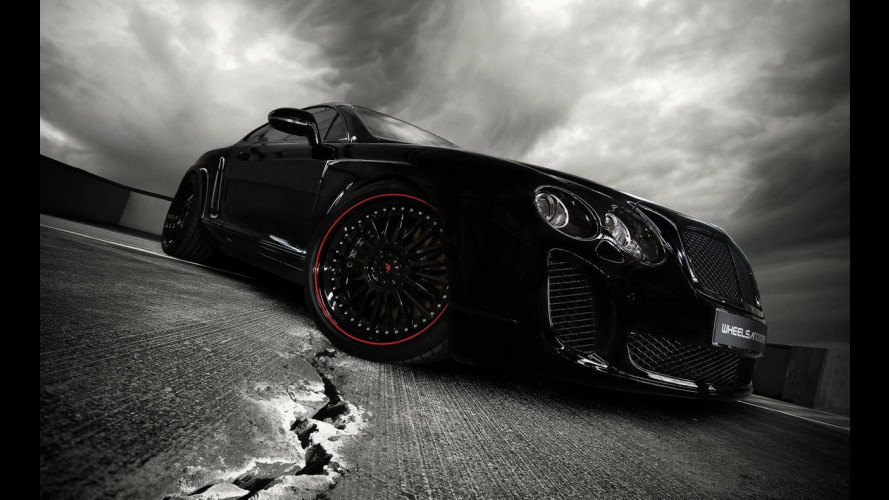 Bentley Continental Ultrasports 702 by wheelsandmore