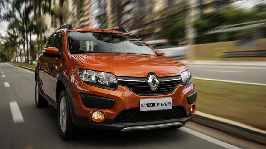 Renault Sandero fica até R$ 2.650 mais caro na linha 2019