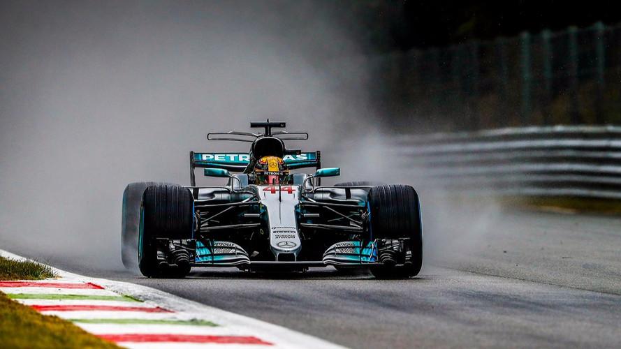 F1 - En qualifs, Hamilton et Ocon brillent sous la pluie de Monza !