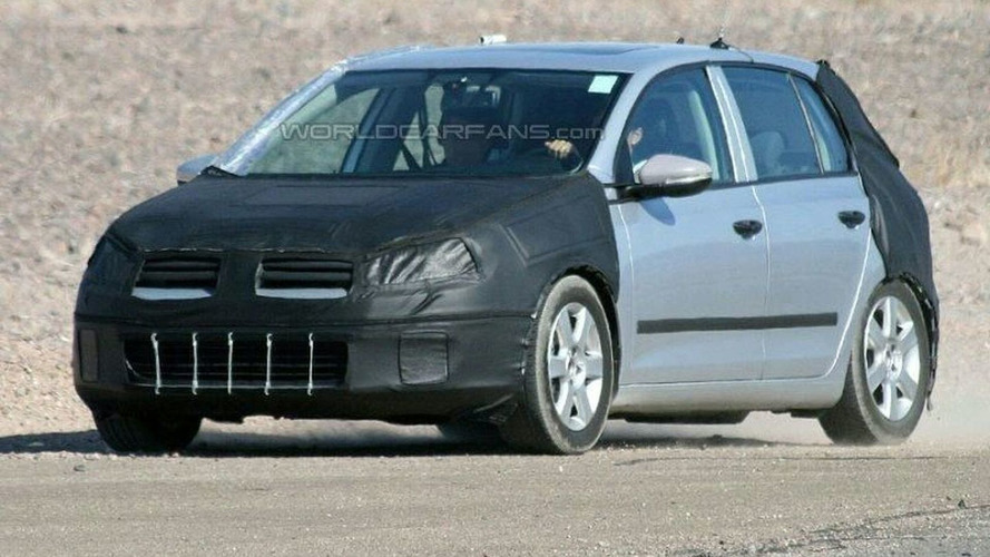 Smaller Engines for New VW Golf VI