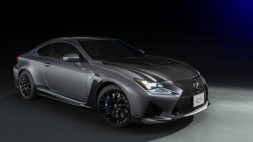 Lexus celebrates decade of F with RC F and GS F special editions