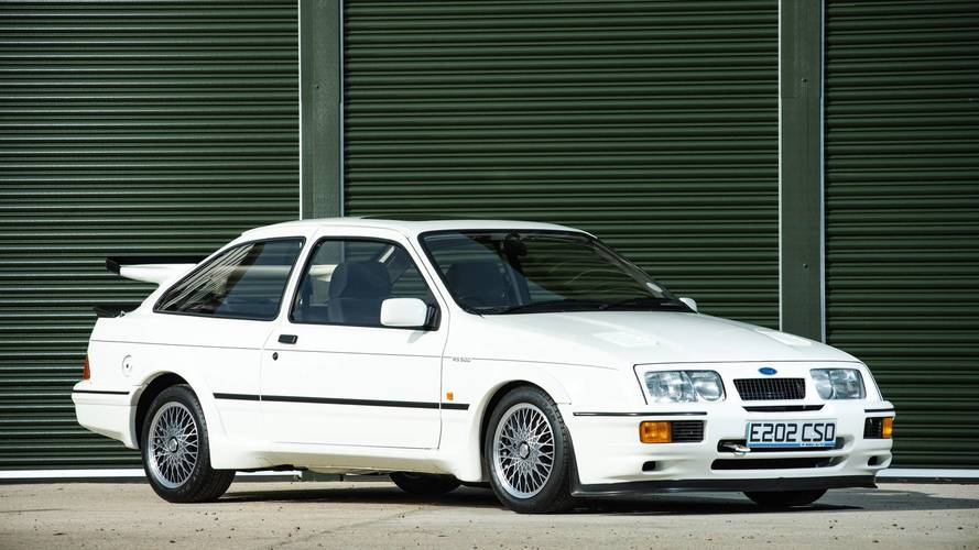 Spotless Ford Sierra Cosworth set to break auction record