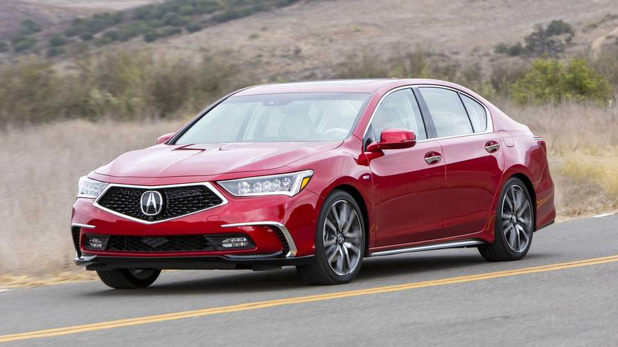 Acura RLX Sport Hybrid First Drive Gradual Improvement - Acura hybrid 2018