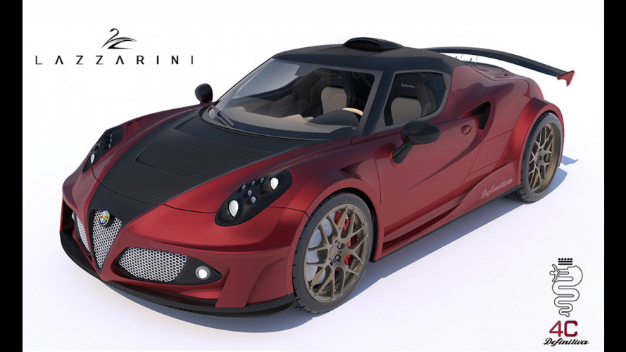 Lazzarini Design 4C Definitiva, trapianto Ferrari