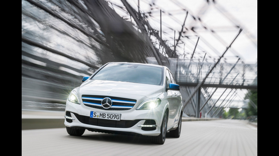 Mercedes Classe B restyling, anche a metano ed elettrica