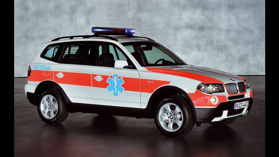 BMW X3 ambulanza a Ginevra