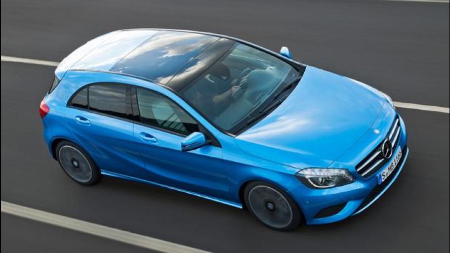 Le doti telaistiche della nuova Mercedes Classe A