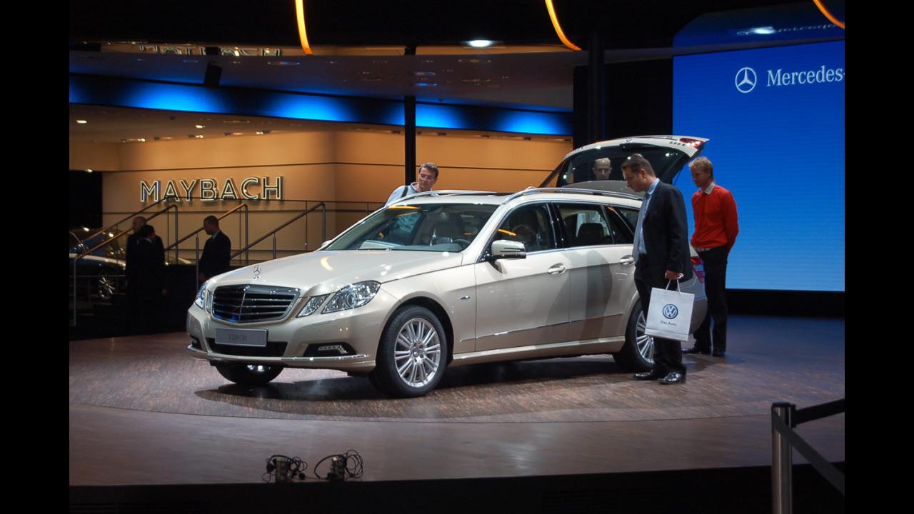 Mercedes Classe E Station Wagon al Salone di Francoforte 2009