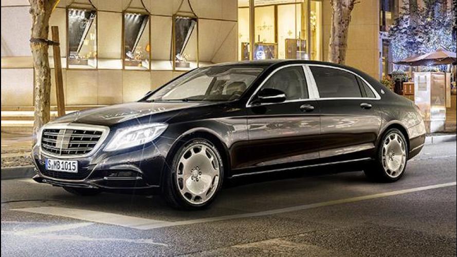Mercedes-Maybach Classe S, lunga e aristocratica