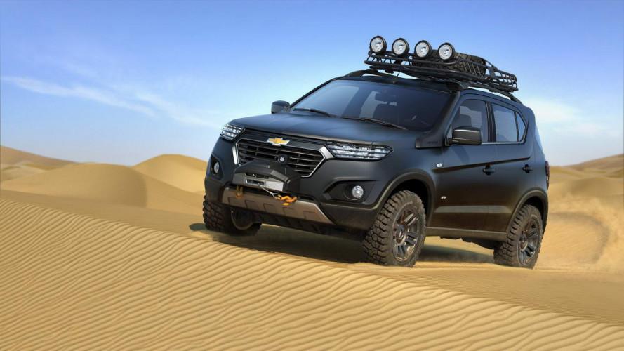 Chevrolet Niva Concept, prove russe di fuoristrada
