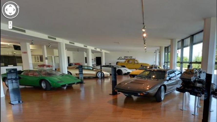 Il Museo Lamborghini approda sul web grazie a Google
