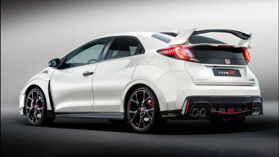 Honda Civic Type R, mai così potente