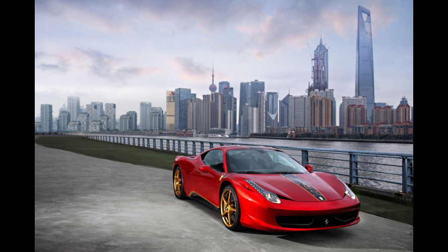 Ferrari 458 Italia Special Edition for China