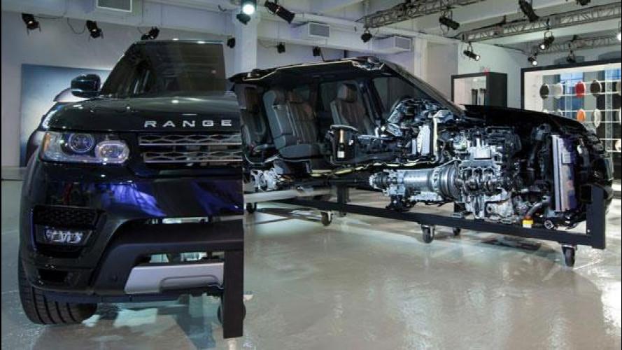 Nuova Range Rover Sport: anima hi-tech