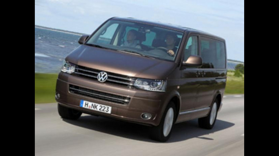 Volkswagen Transporter, anche con 180 CV