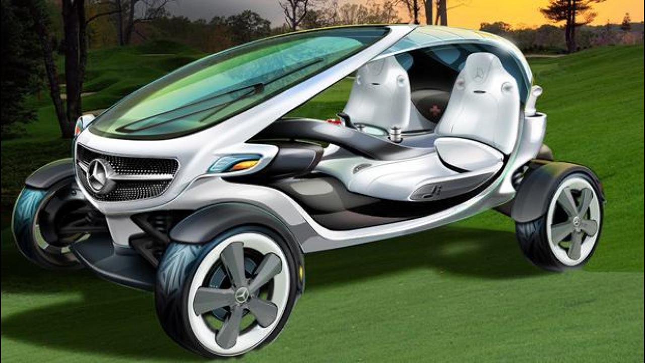 [Copertina] - Mercedes Vision Golf Cart