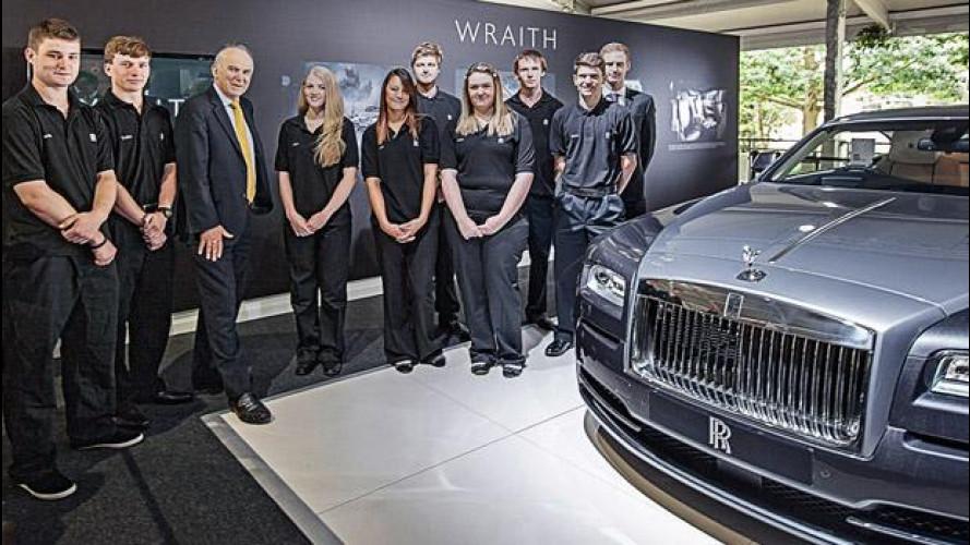 Rolls-Royce offre 100 posti di lavoro