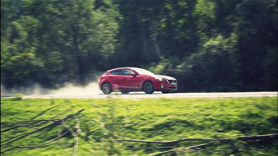Route3, siamo pronti per un lungo viaggio con la nuova Mazda3