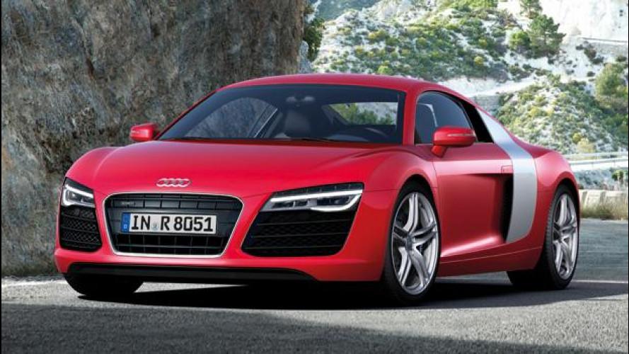 Audi R8 restyling