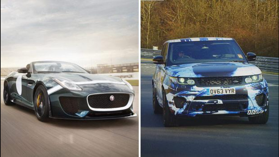 Jaguar Land Rover, tris a Pebble Beach