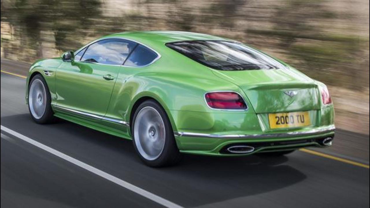 [Copertina] - Bentley sfida Ferrari con una nuova GT