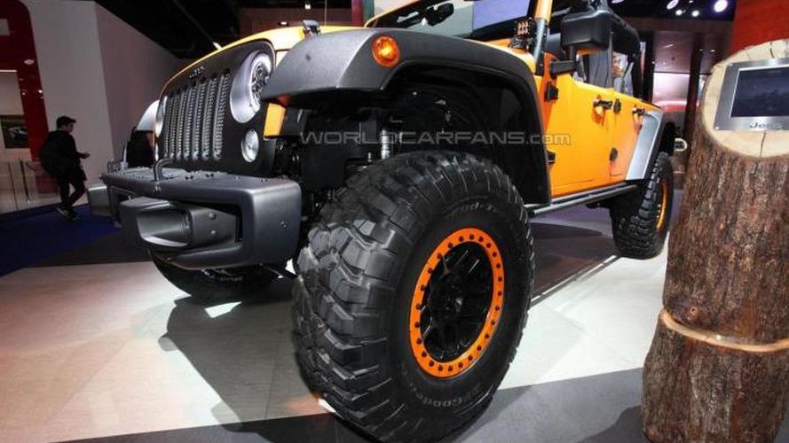 Jeep Cherokee KrawLer & Wrangler Rubicon Sunriser concepts bow in Frankfurt