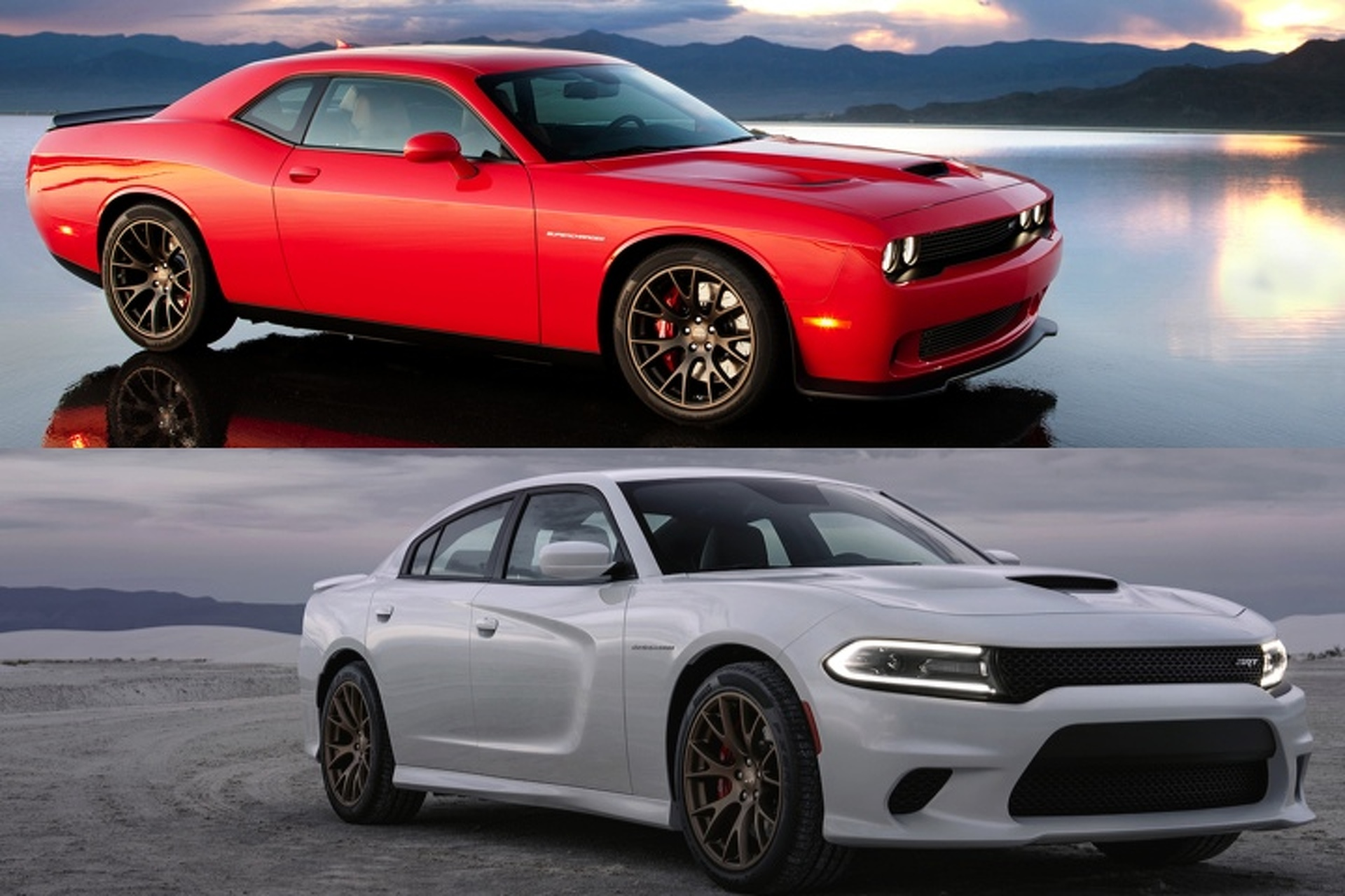 Challenger Vs Charger >> Dodge Charger Hellcat Vs Challenger Hellcat Which Would You Rather