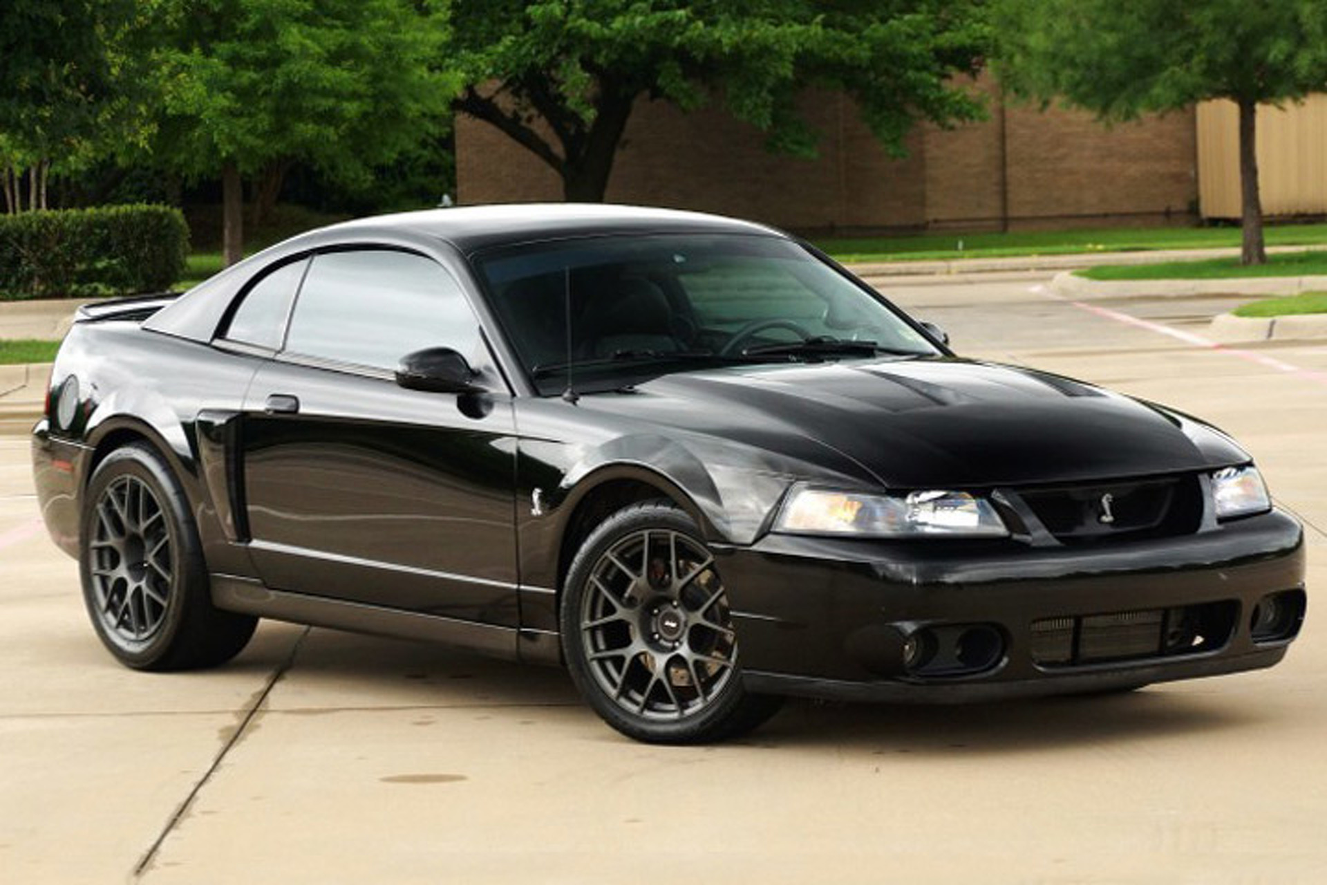 The 03 mustang cobra is one seriously mean future classic