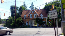 Crash victim house