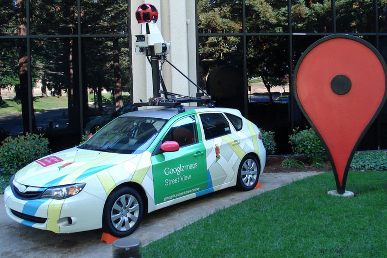 Google StreetView cars to record London air pollution