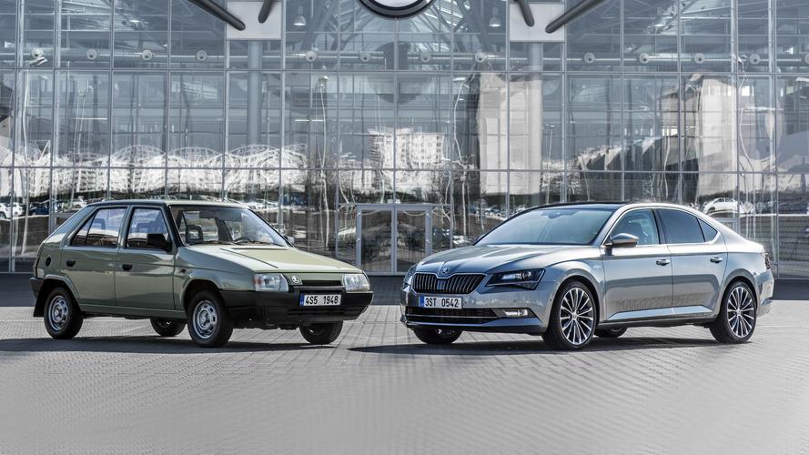 Skoda celebrates 25 years of VW ownership