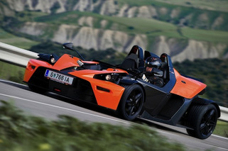 KTM Readying Audi-Powered 5-Cylinder X-Bow