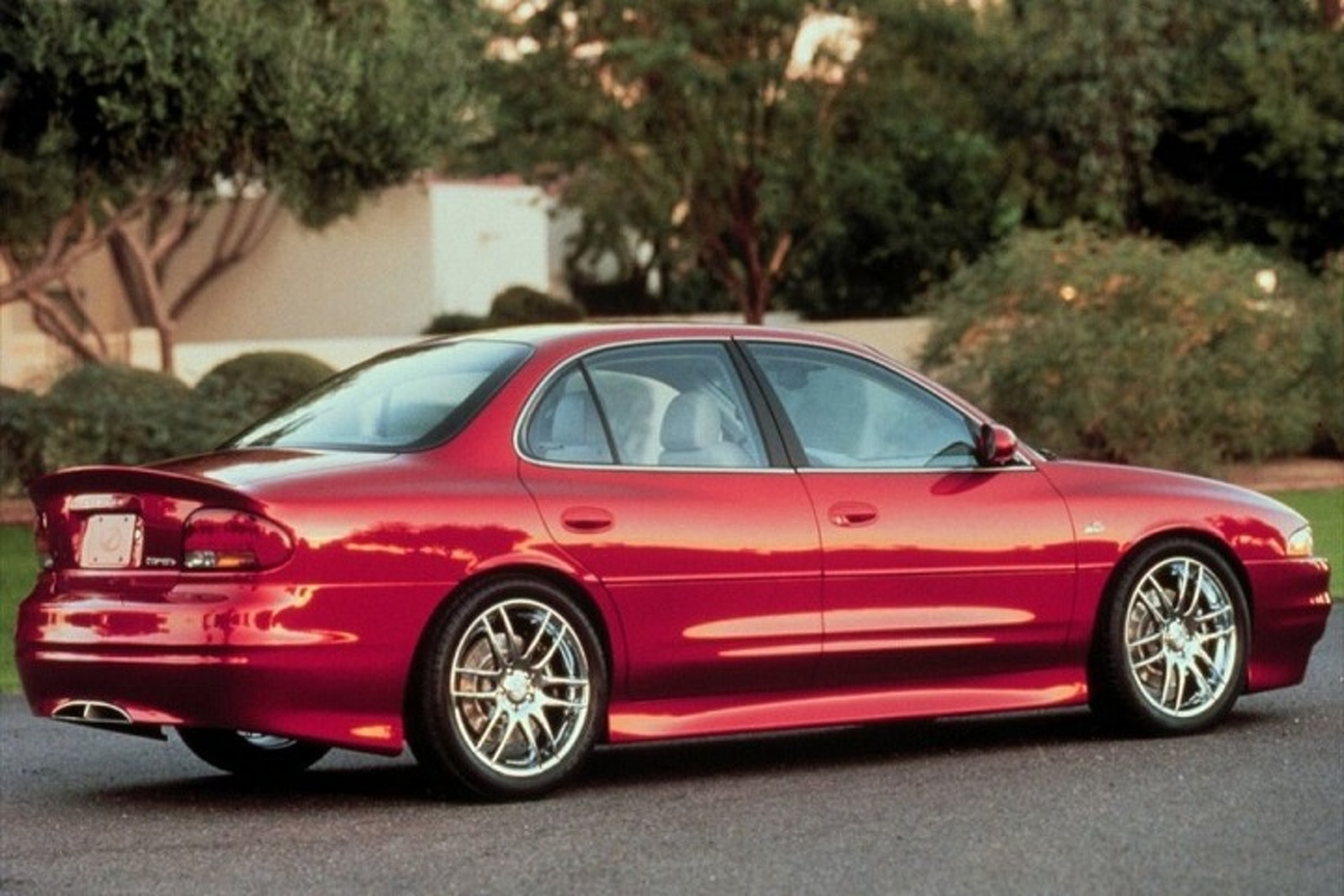 Oldsmobile Intrigue Osv Concept Is The Performance Sedan That Never Was 2003 Alero Exhaust Diagram Category