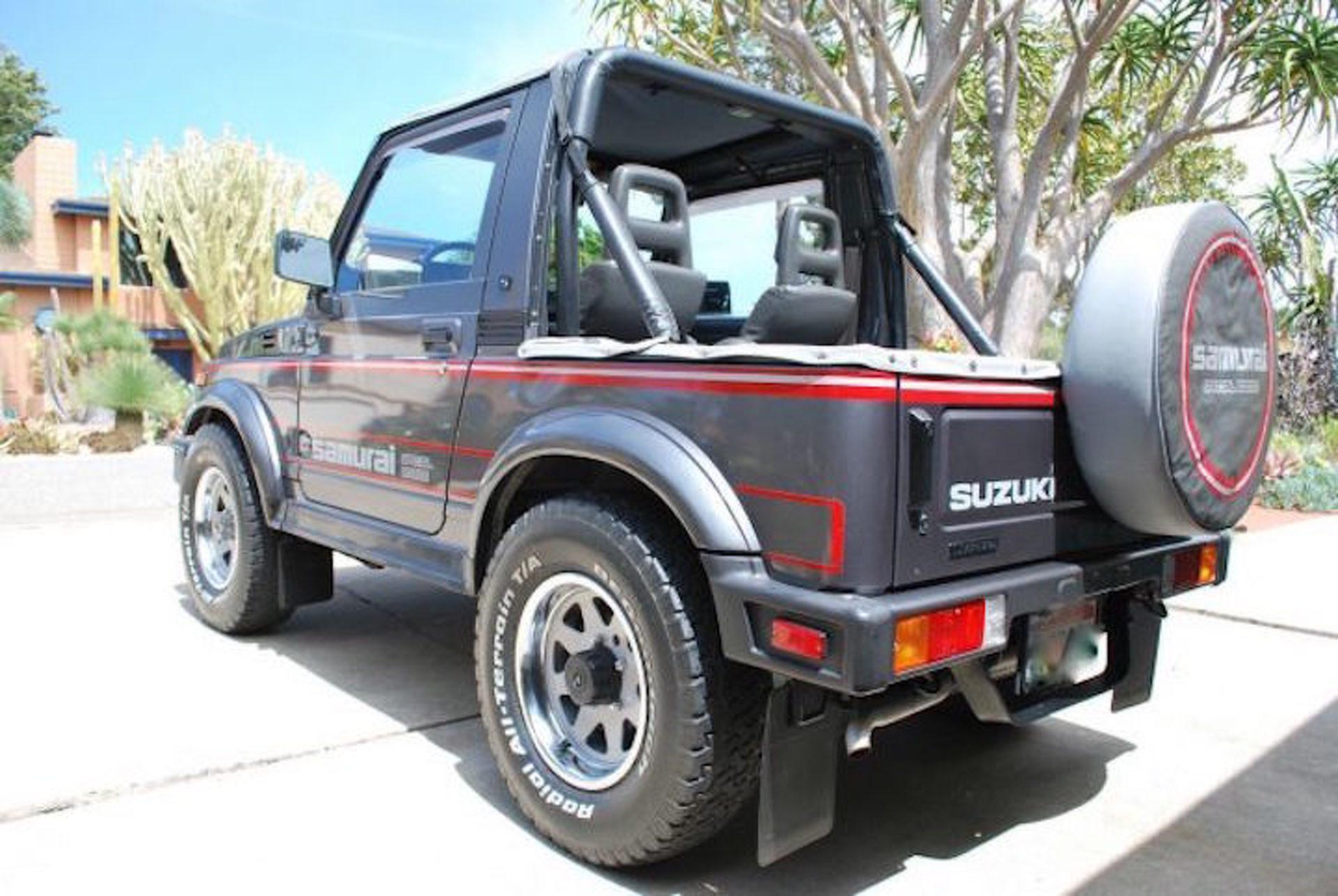 this 87 suzuki samurai is the 4x4 collector s jeep alternative Isuzu V6 Frontier 320