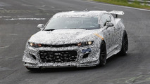 Chevrolet Camaro Z/28 spy photo