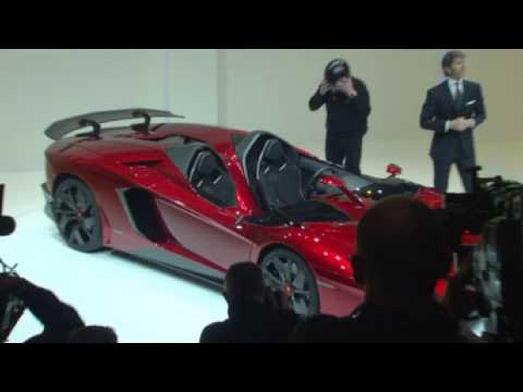 2012 Lamborghini Aventador J Concept Unveiled Motor1 Com Photos