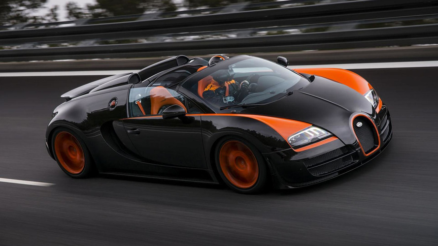 Bugatti Veyron Grand Sport Vitesse World Record Car Edition officially announced