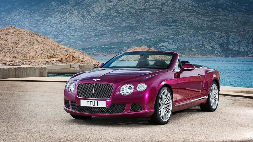 2014 Bentley GT Speed Convertible roars into Motown [video]