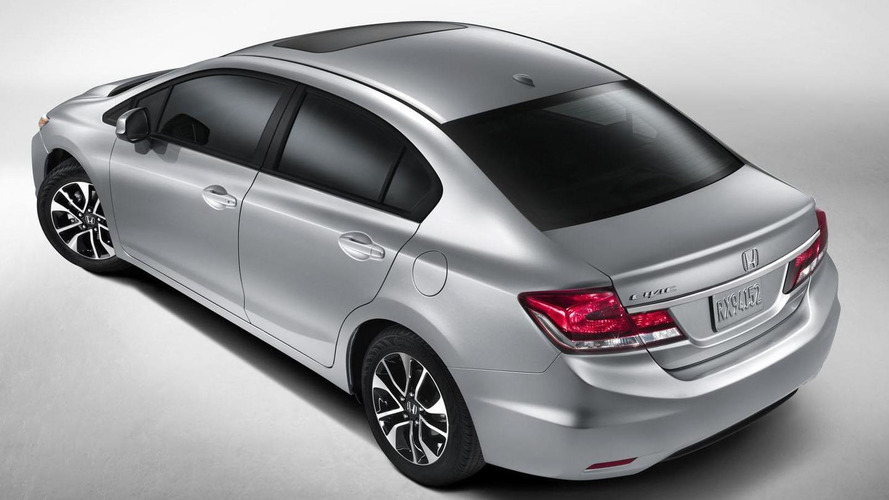 2013 Honda Civic facelift revealed - debuts in L.A.