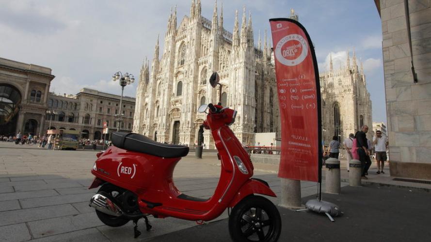 Vespa Turns Red: contro l'AIDS infantile