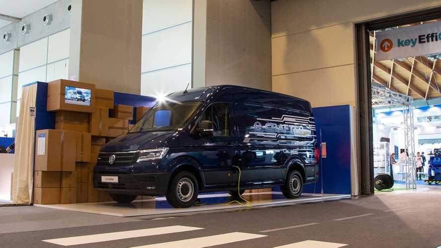 Volkswagen e-Crafter a Ecomondo e Key Energy