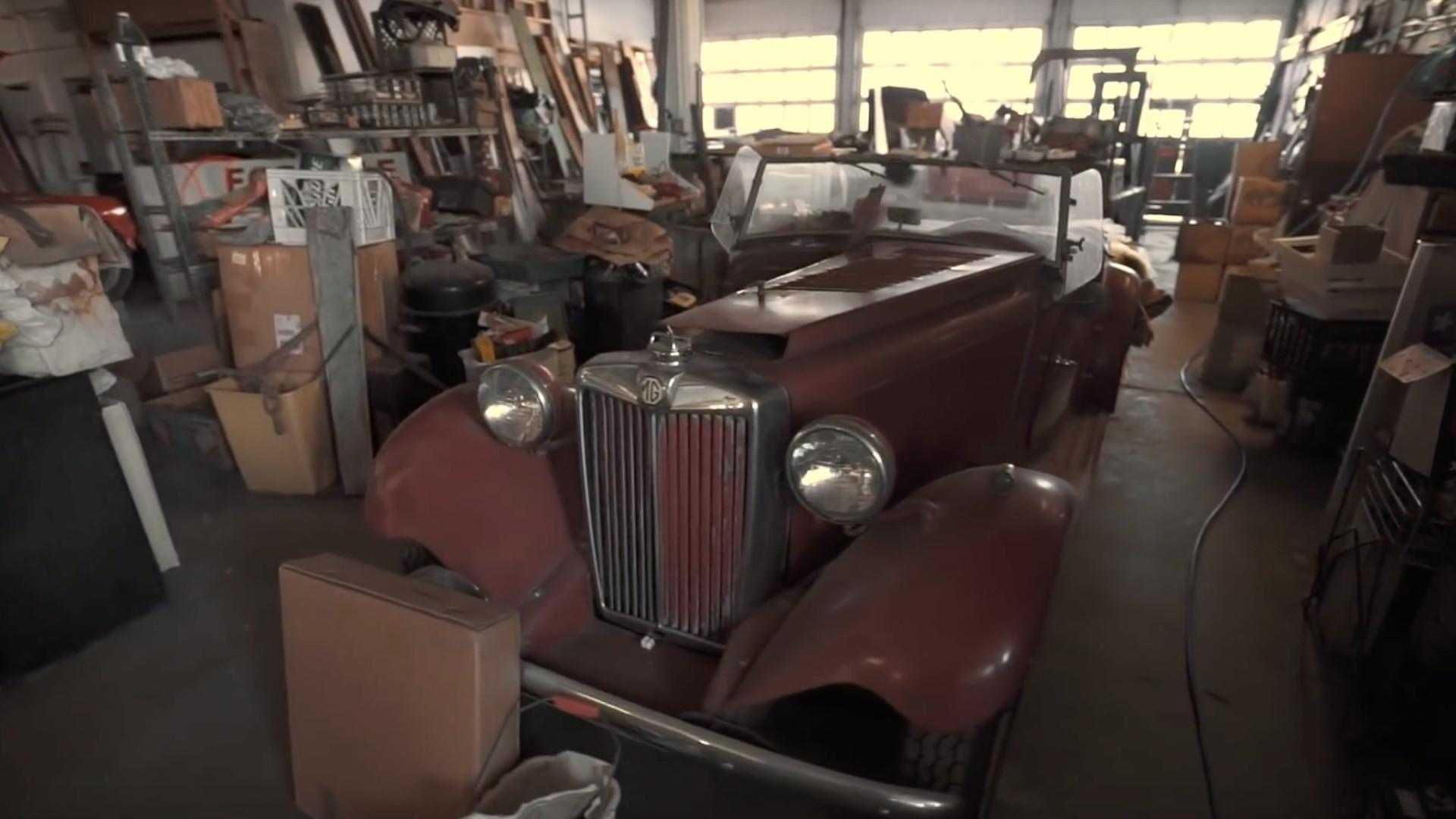"[""Exotic vintage barn finds stashed away in old Buick dealership""]"