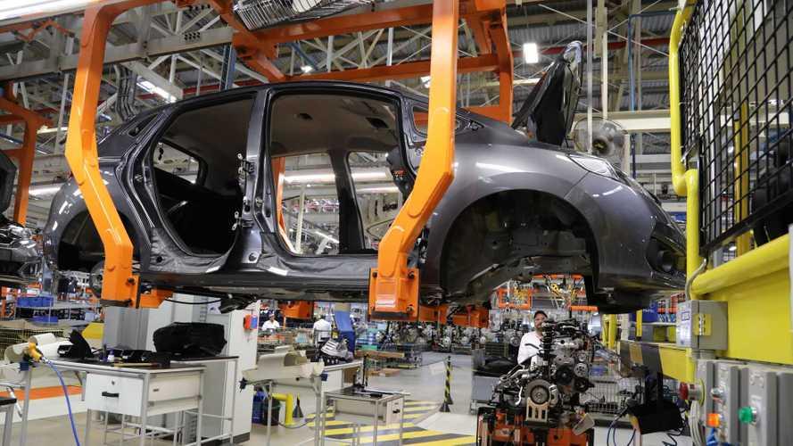 Indústria automotiva nacional irá parar totalmente no dia 30 de março