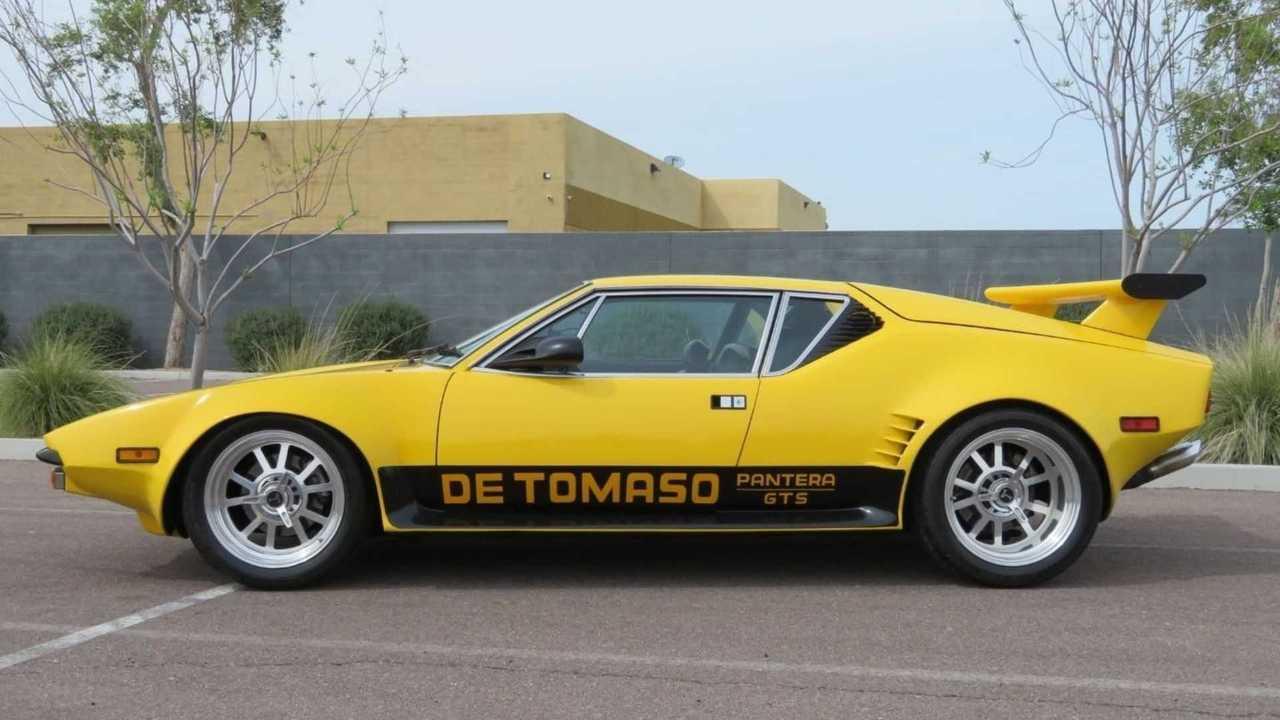 1973 From Tomaso Pantera GT5