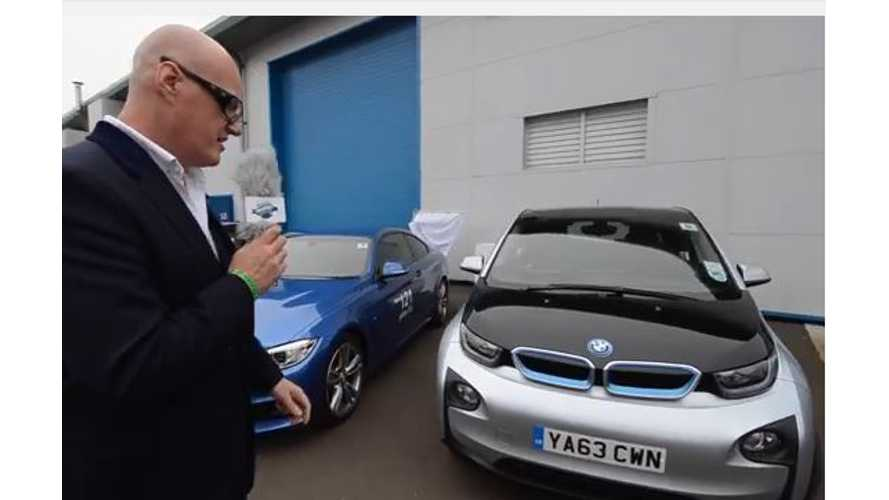 BMW i3, Tesla Model S And Nissan LEAF On Display in Scotland - Video
