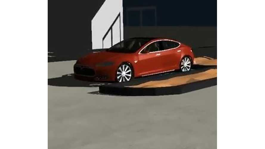 Tesla Model S Simulator - Video