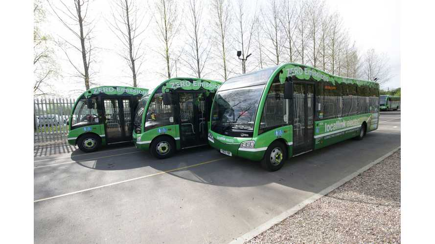Nottingham Adds 17 Optare Electric Buses To Its EV Fleet