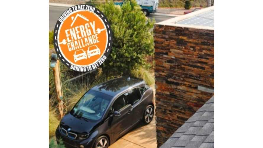 BMW i3 Driving to Net Zero Energy - Powered By Sunshine