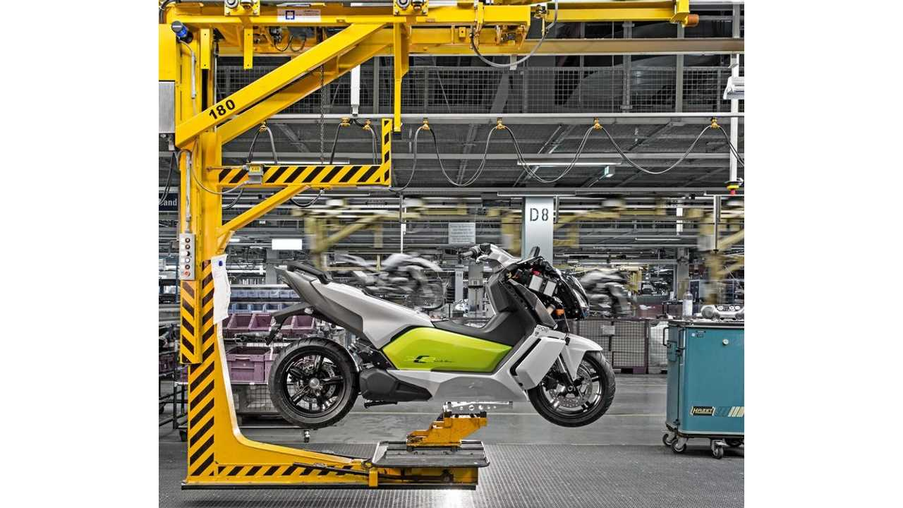 BMW C Evolution Electric Scooter Now In Production