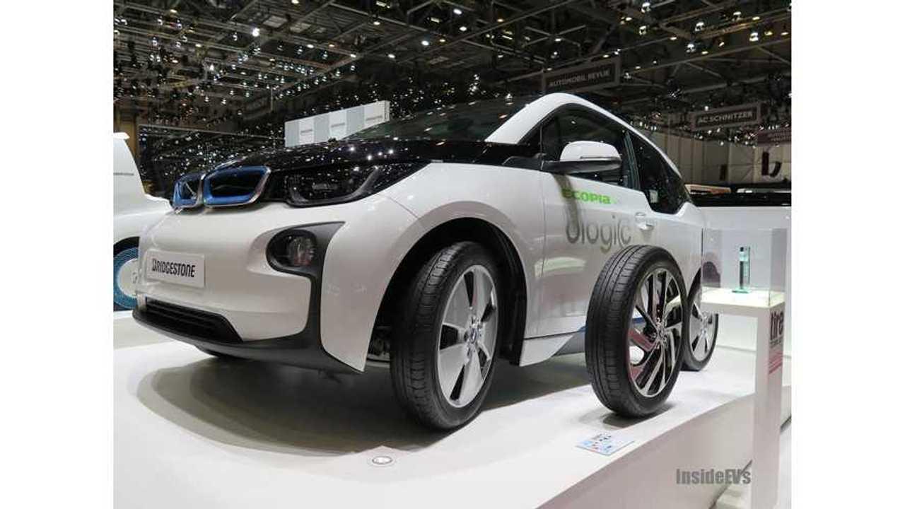 Bridgestone Electrifies Its Fleet With Addition Of BMW i3s